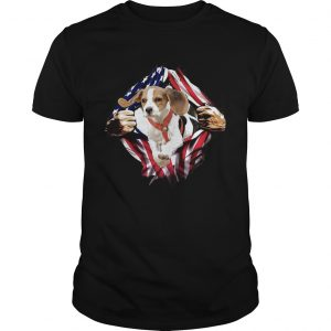 Beagle On The Flag Independence Day  Unisex