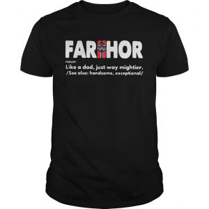 Farthor noun like a dad just way mightier  Unisex