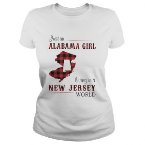 Just an alabama girl living in a new jersey world map  Classic Ladies