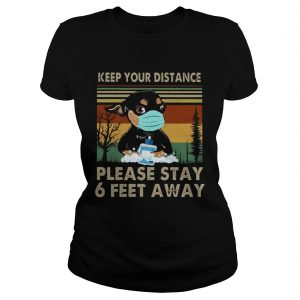 Keep Your Distance Chihuahua Vintage  Classic Ladies