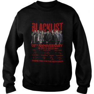 07 Year Of Blacklist Thank You For The Memories  Sweatshirt