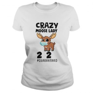 Crazy Moose Lady 2020 Quarantined Face Mask Paper Toilet  Classic Ladies