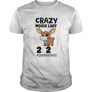 Crazy Moose Lady 2020 Quarantined Face Mask Paper Toilet  Unisex