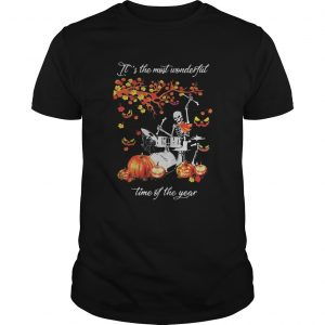 Skeleton drummer its the most wonderful time of the year pumpkin  Unisex