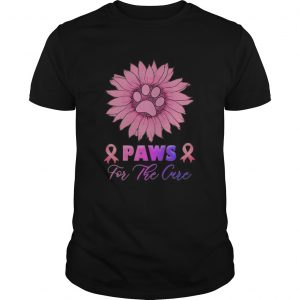 Sunflower Paws for the cure Breast Cancer Awareness  Unisex