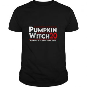 Pumpkin Witch Halloween Election 2020 Funny Costume shirt
