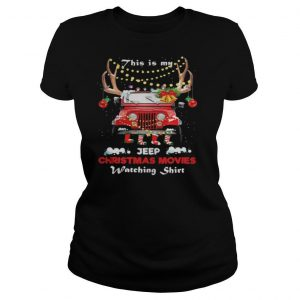 This is my car christmas movies watching shirt