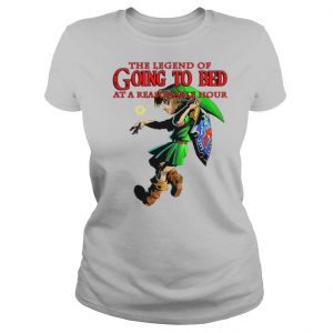The Legend Of Going To Bed At Reasonable Hour shirt