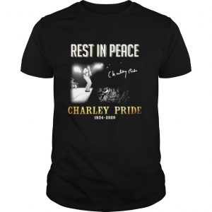 Rest In Peace Charley Pride 1934 2020 Signature shirt