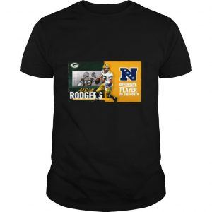 Green Bay Packers Aaron Rodgers Offensive Player Of The Month 2021 shirt