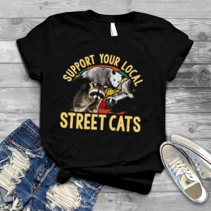 Support Local Street Cats Vintage shirt