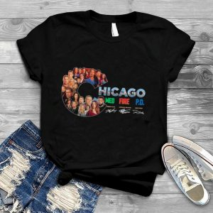 The Chicago Film With Med Fire Pd Signatures shirt