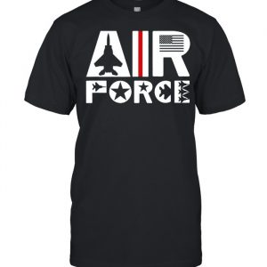 Air Force with F15 Jet Shirt Classic Men's T-shirt