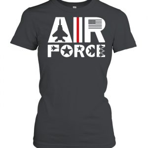 Air Force with F15 Jet Shirt Classic Women's T-shirt