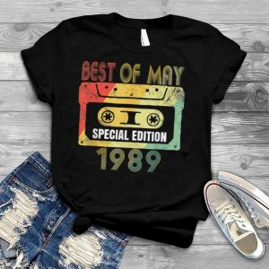 32nd Birthday Special Edition May 1989 Birthday T Shirt