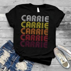 Carrie Carrie Carrie Vintage Style T Shirt