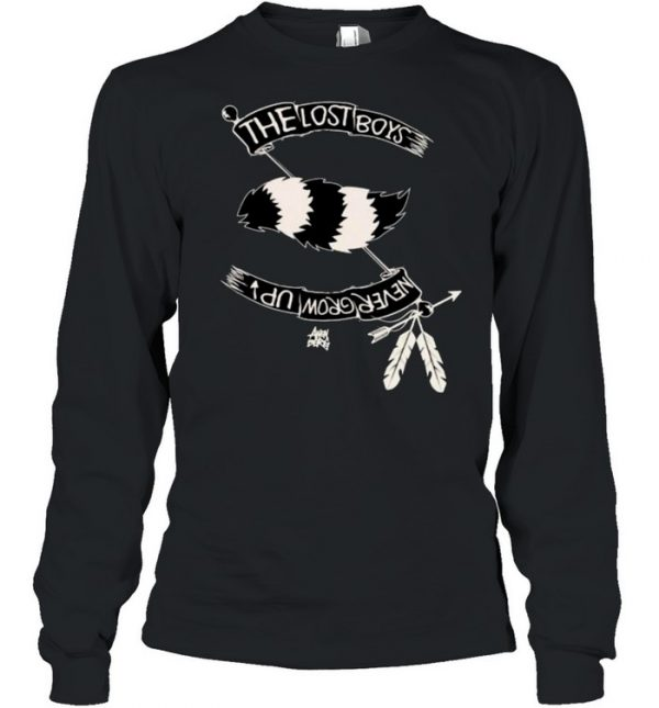 The Lost Boys Never Grow Up Native Shirt Long Sleeved T-shirt