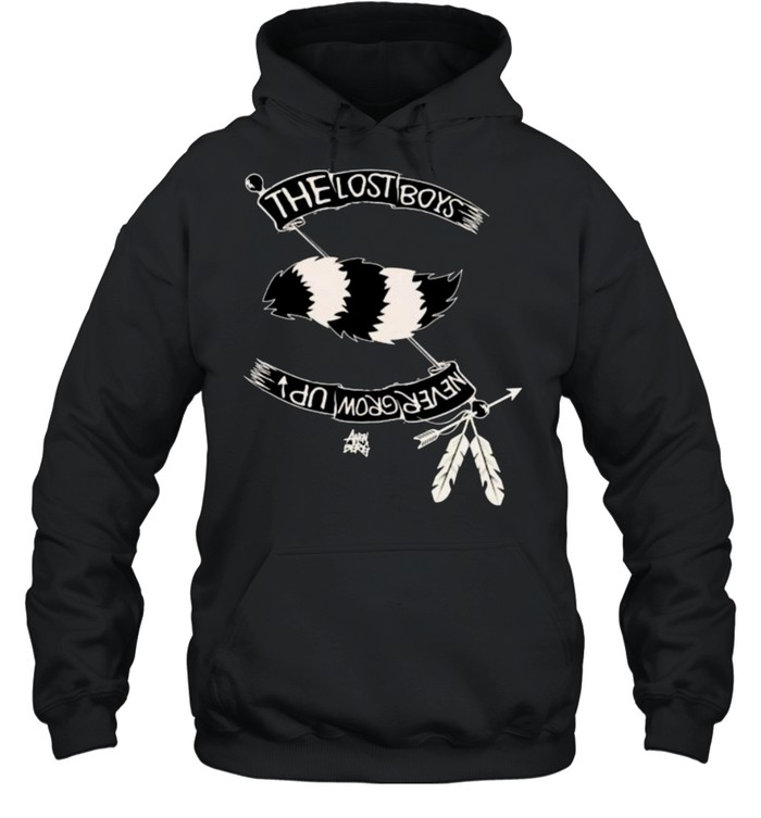 The Lost Boys Never Grow Up Native Shirt Unisex Hoodie