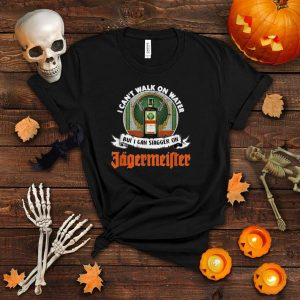 I Cant Walk on Water but I can Stagger onGift Halloween Day T Shirt