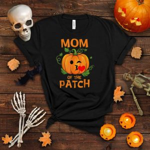 Pumpkin Mom Of The Patch Family Halloween T Shirt